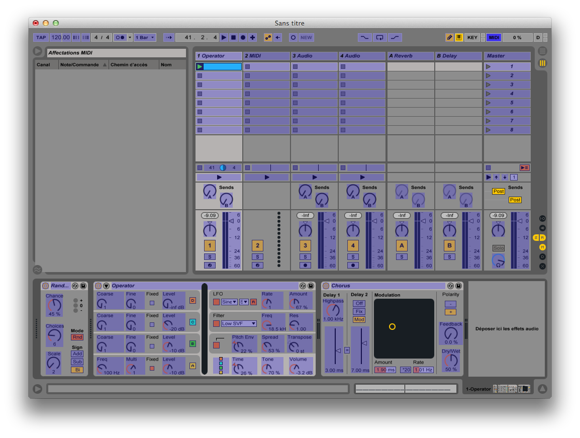 MIDI Mapping Edit Mode enabled