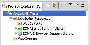 how to create an angularjs 2 project in eclipse