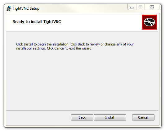 TightVNC Install