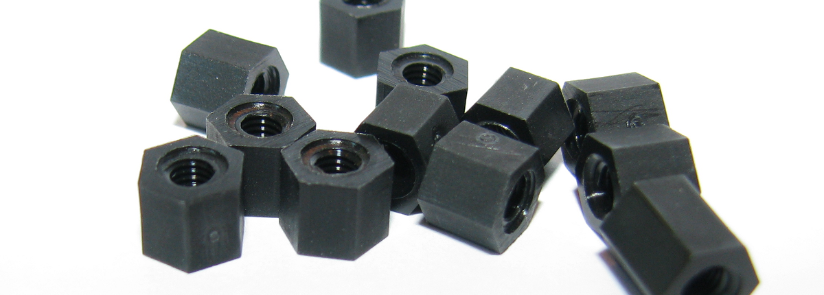 M3 x 5 Nylon Hex Spacer