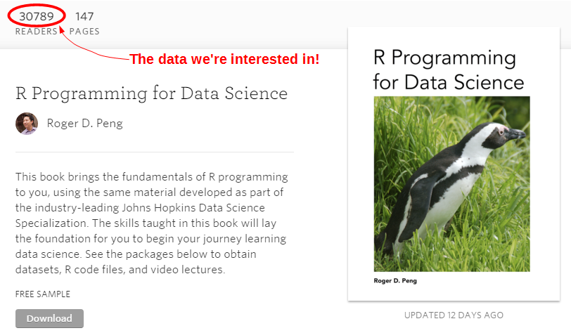 R Programming for Data Science by Roger Peng