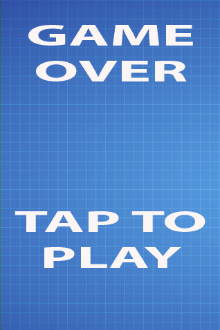 Foxnoid game over screen
