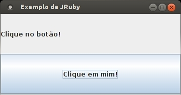 Usando GUI do Java em Ruby