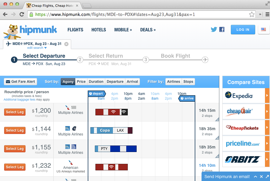 hipmunk search