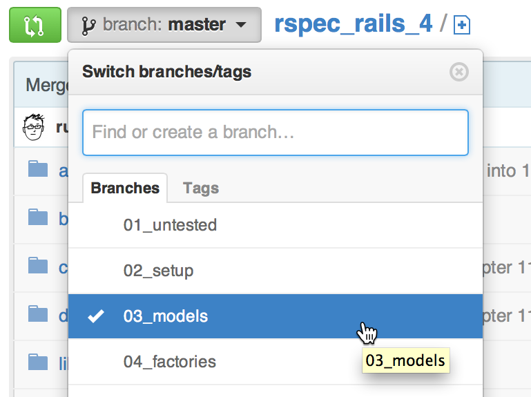 Read everyday rails testing with rspec leanpub if youre not familiar with git you may still download the sample code a given chapter to begin open the project on github fandeluxe Images