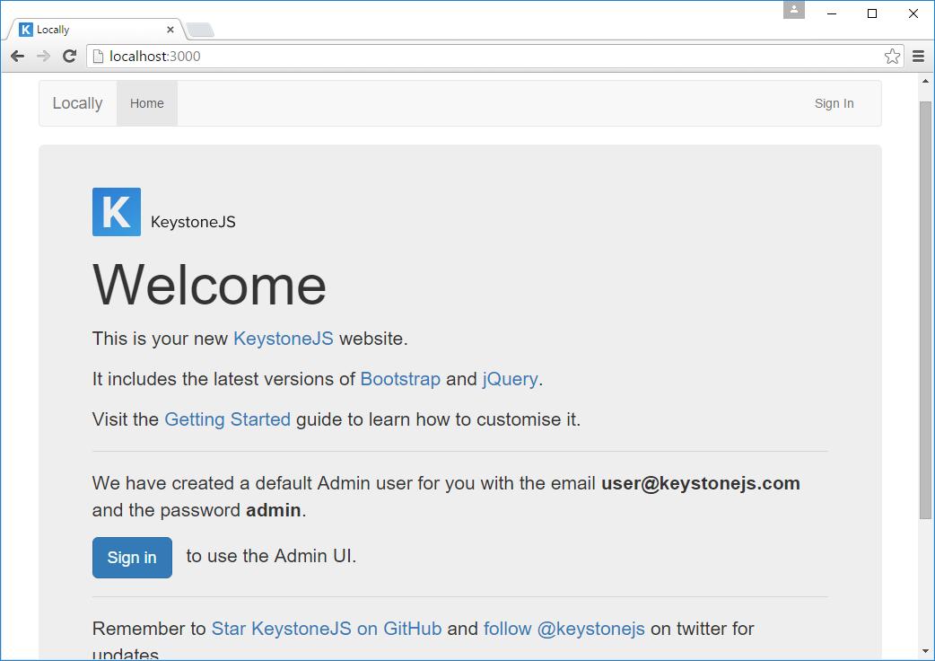Read Practical Keystone js   Leanpub