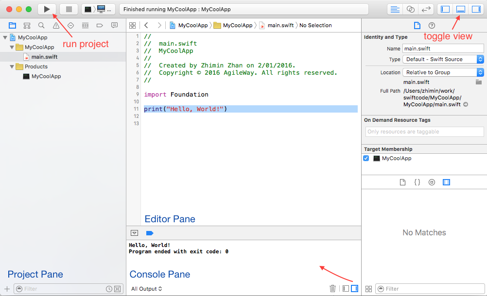 Read Learn Swift Programming by Examples | Leanpub