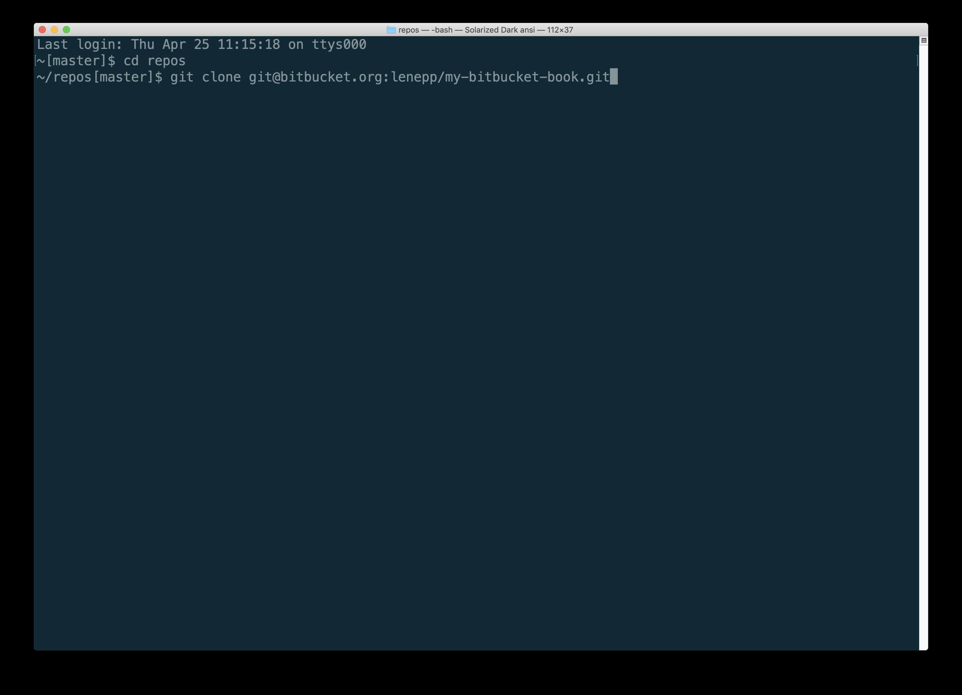 Git Push Hanging Bitbucket