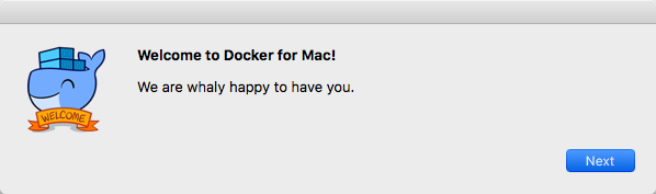 Docker macOS - Welcome