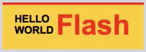 Canvas output of Flash ad