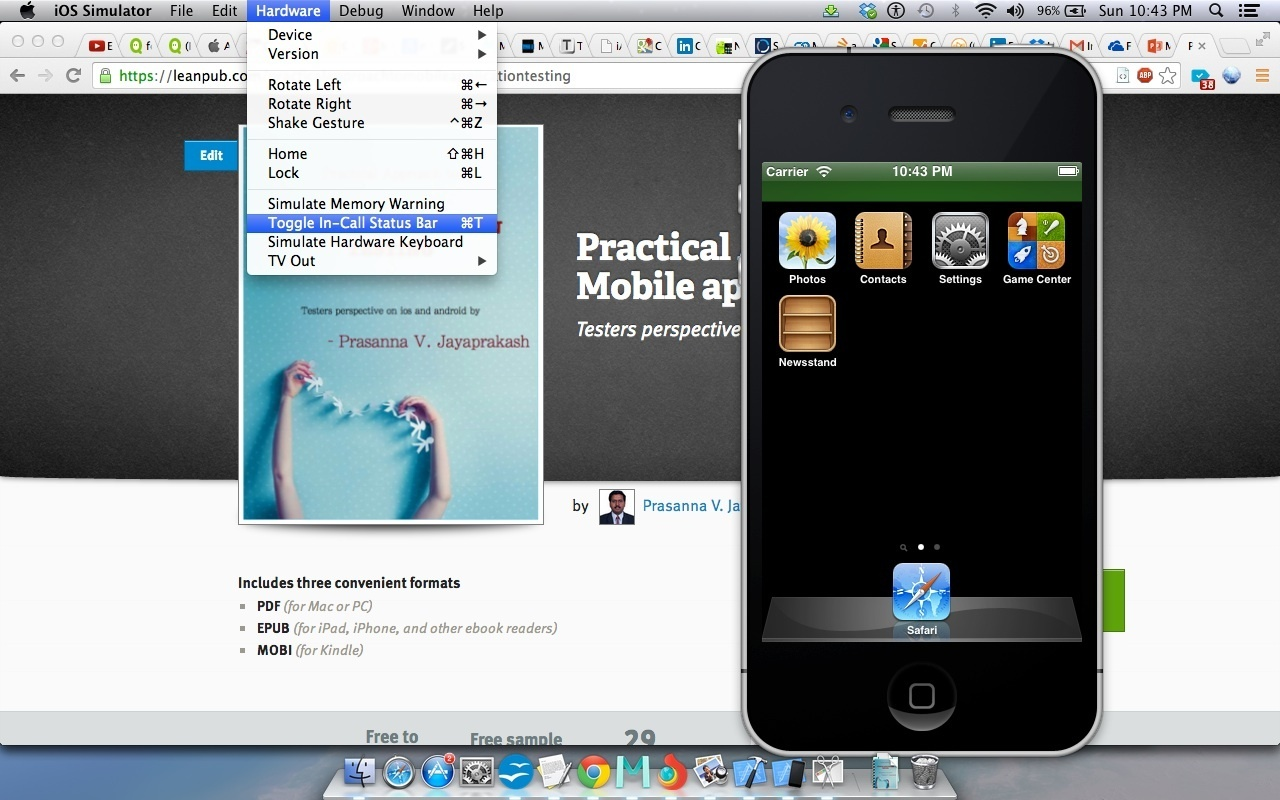 Read Practical Approach to Mobile application Testing | Leanpub