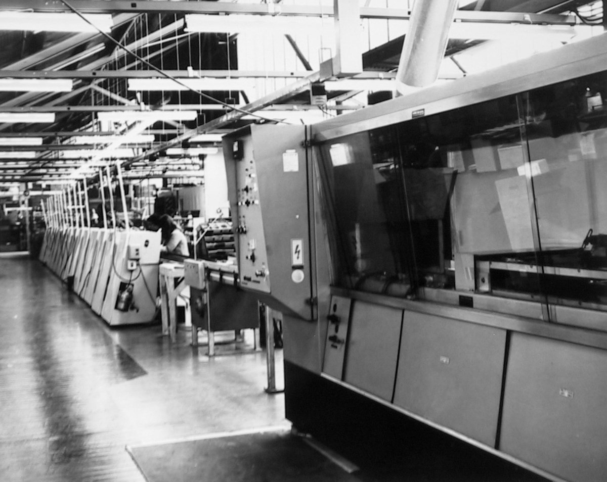 Read A History Of Pye Radio Ltd In Waihi New Zealand Leanpub Worker Soldering Circuit Board Electronics Factory Close Up Flow Solder Line