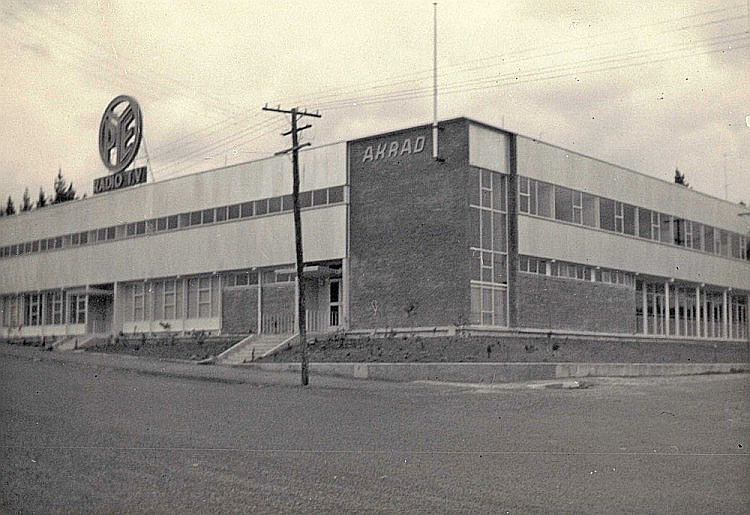 Pye / Akrad building on Moresby Avenue (1967) (source: waihimuseum.co.nz)