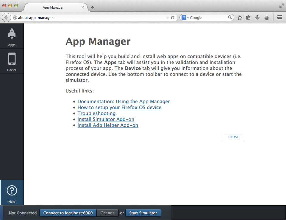 The App Manager Help