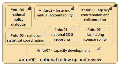 The pillars of National Follow Up and Review processes (NFUR)