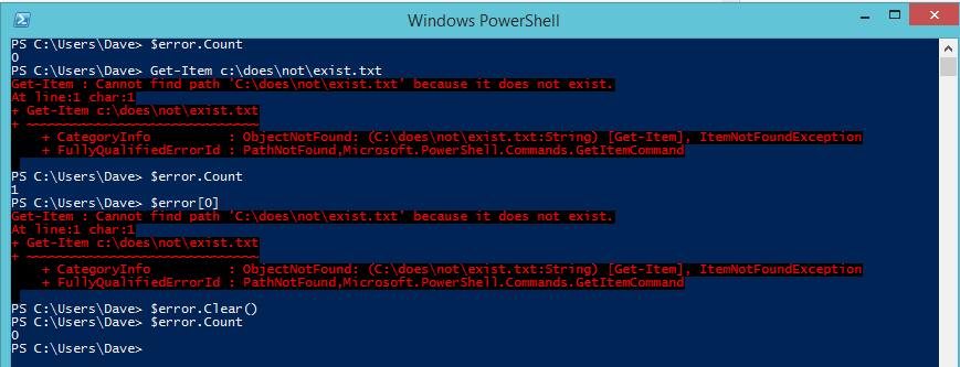 Read The Big Book of PowerShell Error Handling | Leanpub
