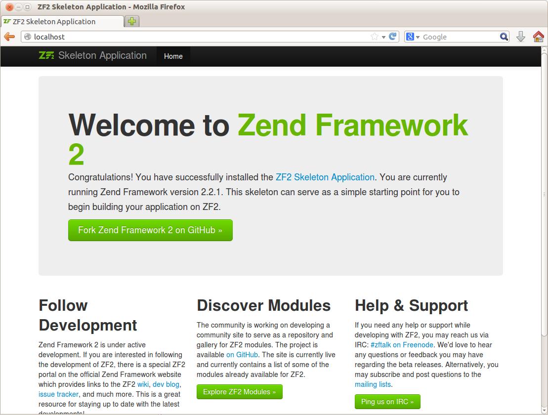 zend framework dating site