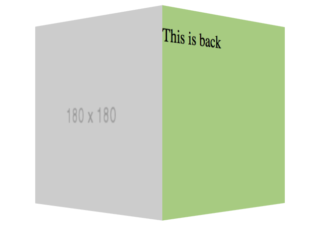 Css 3d Cube Codepen