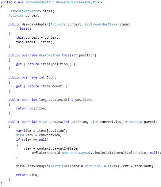 Read Xamarin Android Application Development