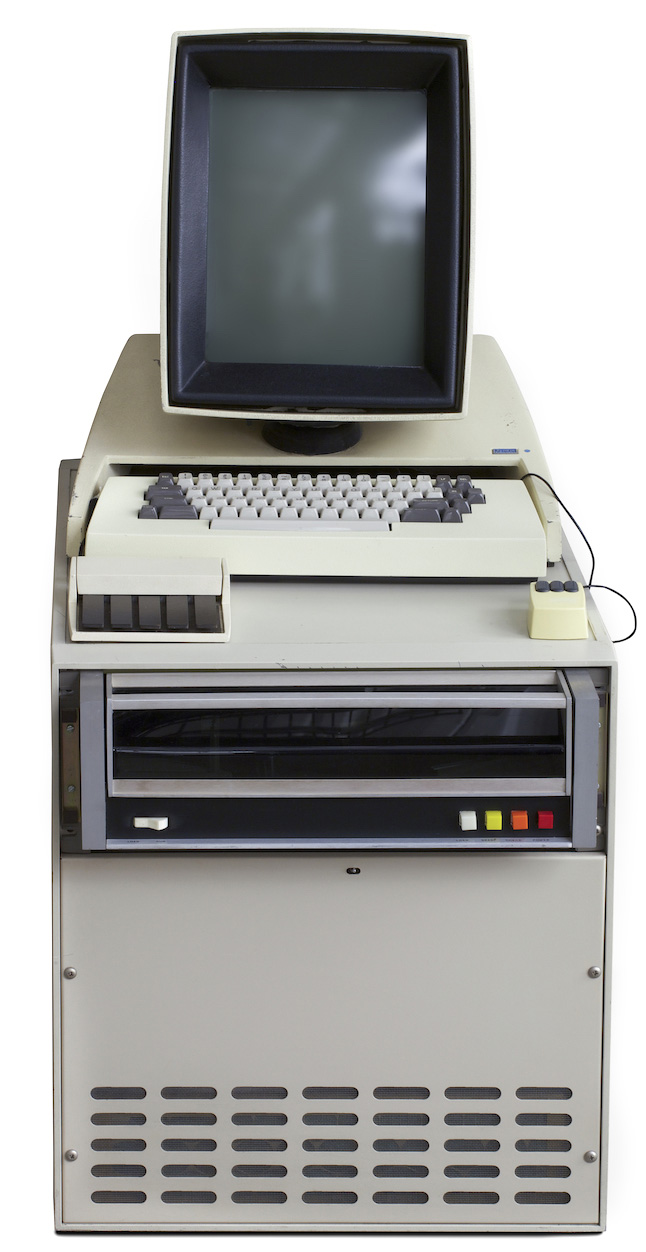 Xerox Alto - image courtesy of the Computer History Museum