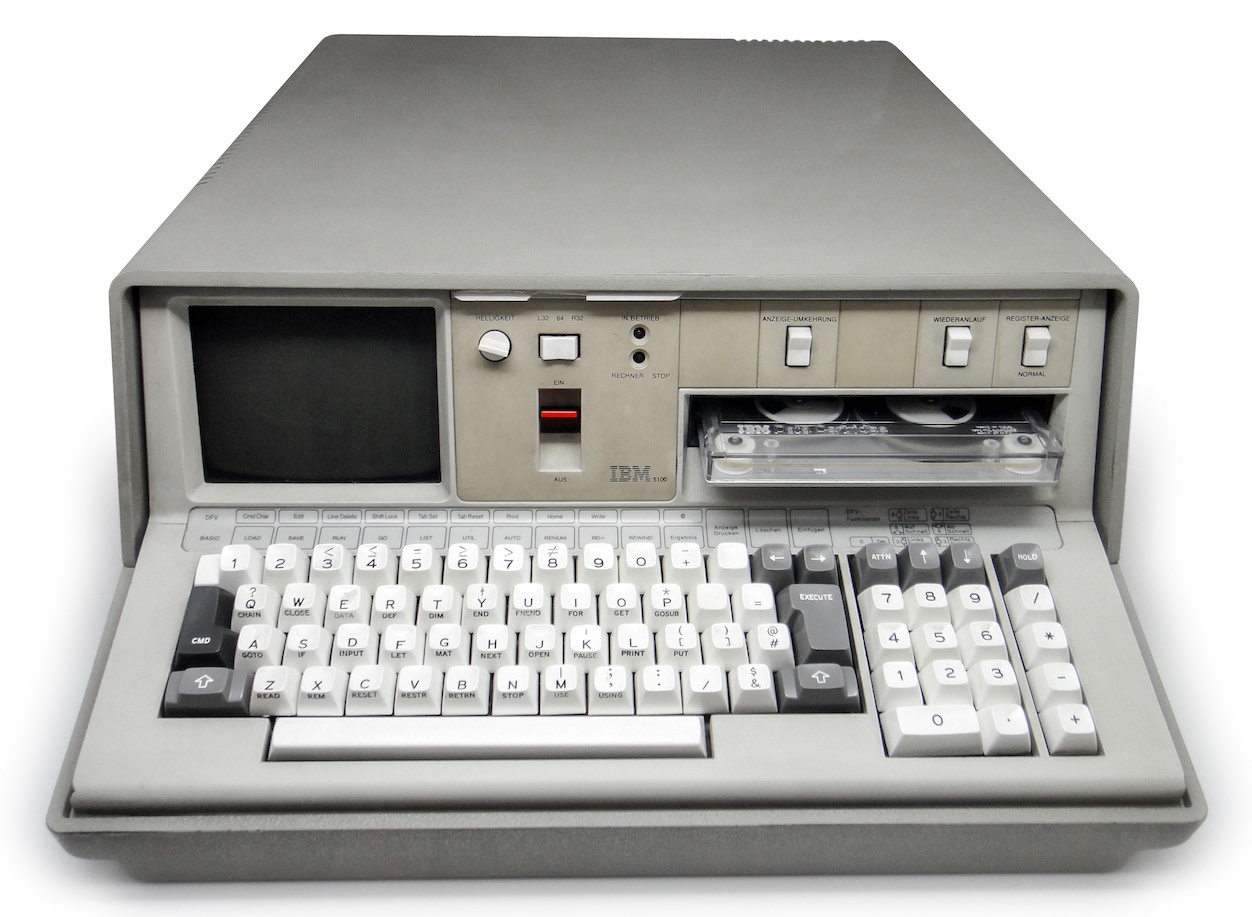 IBM 5100 - Image: Sandstone (CC BY-SA 3.0), exempted