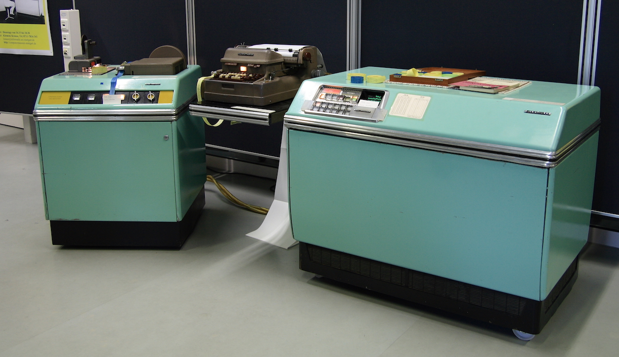 LGP-30 - Image courtesy of the Computer Museum of Informatics of the University of Stuttgart