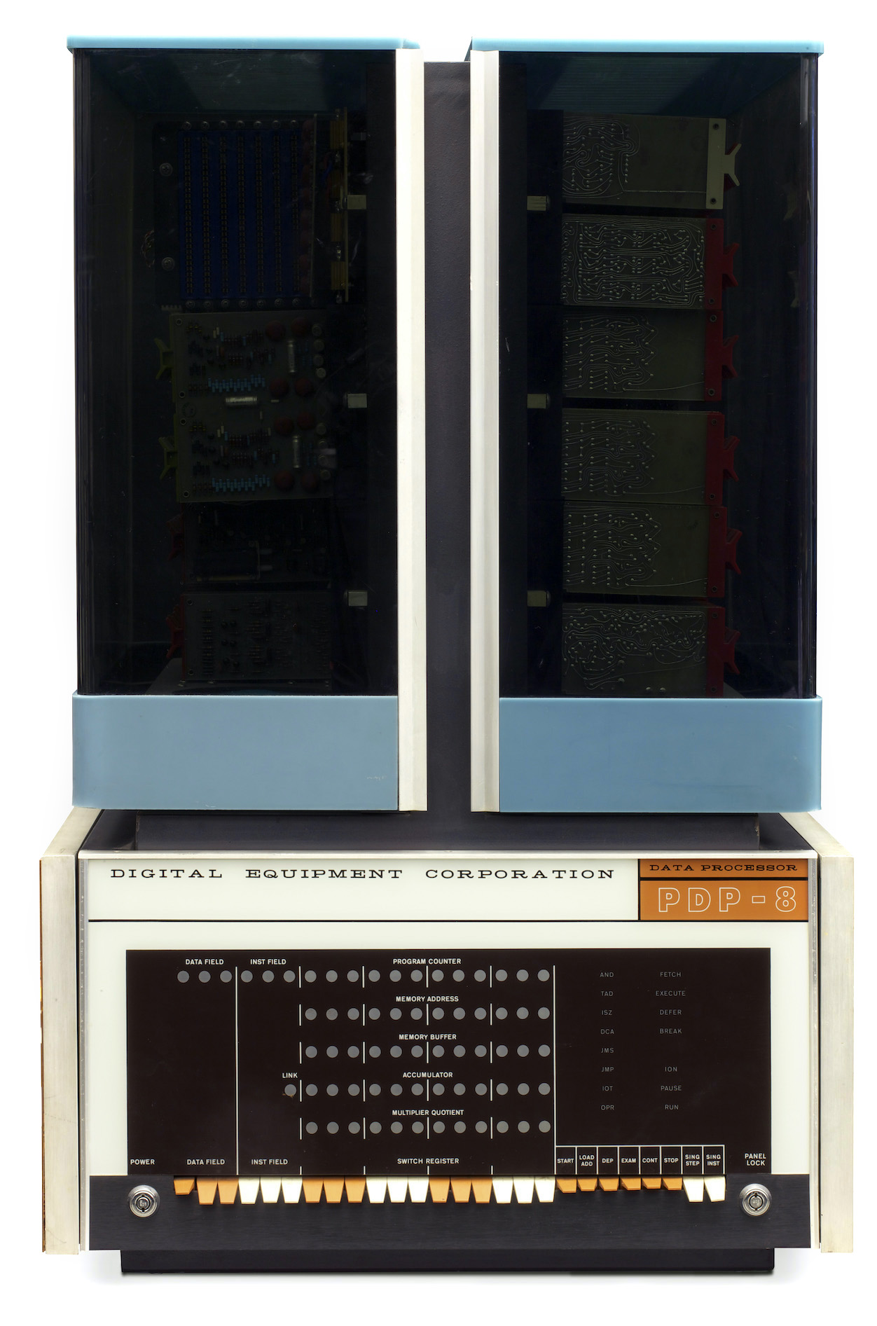 The first version of the PDP-8 - image courtesy of the Computer History Museum
