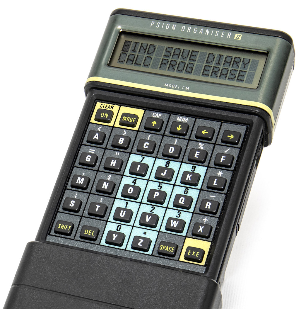 PSION Organiser II from 1986