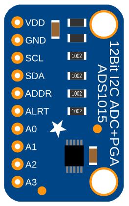 ADS1015 Sensor Board