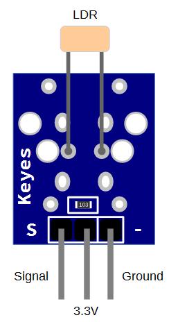 Keyes KY-018 Photoresister Sensor Board