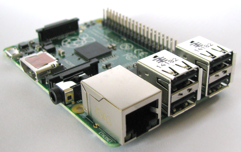 Raspberry Pi B models