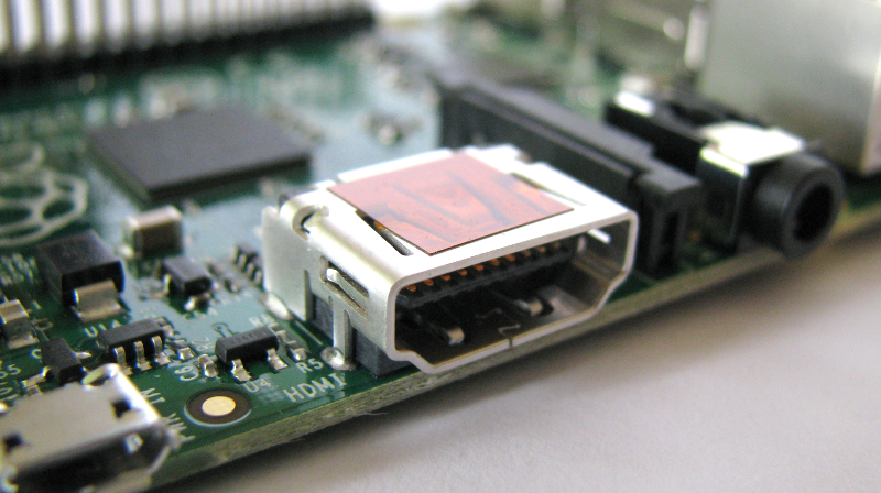 Raspberry Pi B Models HDMI Video Output